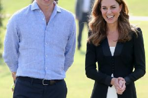 The Duke and Duchess of cambridge during their recent overseas tour of Pakistan.