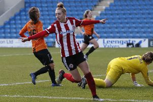 Sheffield United's Jade Pennock . Picture: Simon Bellis/Sportimage