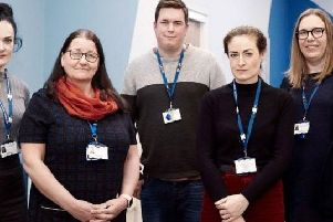 Nottinghamshire Healthcare staff pictured for the documentary. Image: Channel 4.