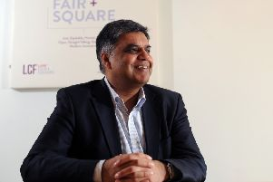 Yorkshire entrepreneur, and epilepsy sufferer, Ajaz Ahmed has issued a challenge to TransPennine Express managing director Leo Goodwin.