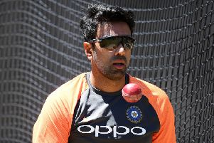 Incoming: Indian spinner Ravi Ashwin, pictured warming up in the nets ahead of the Christmas Test with Australia, is joining Yorkshire for a portion of the 2020 season. (Picture: Quinn Rooney/Getty Images)
