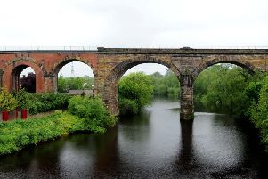 The viaduct in Yarm. Credit: Jonathan Gawthorpe