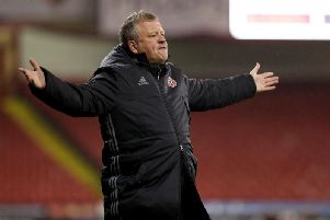 Chris Wilder was not happy with Sheffield United's performance at Arsenal