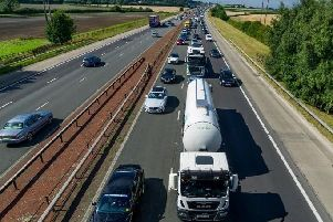 There are major delays on the M1 Southbound (stock photo)