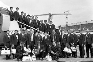 Great Britain rugby league squad head for Australia for the 1970 tour down under