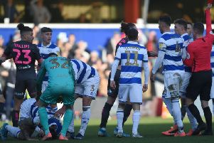 Kalvin Phillips was sent off during Leeds United's 1-0 defeat in West London on Saturday afternoon.