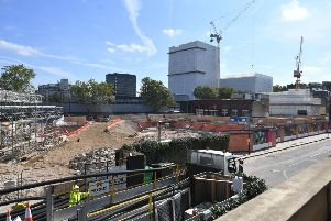 The construction site for the HS2 high speed rail scheme in Euston, London in August 2019. Picture: Victoria Jones/PA Wire