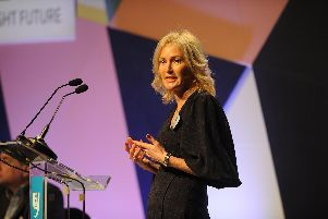 Helen Oldham from North Invest was one of the speakers at #OneNorth 2019
