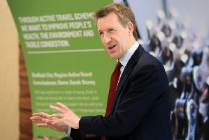 Dan Jarvis is mayor of Sheffield City Region.