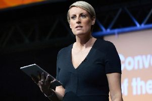 Steph McGovern at the Magna Centre, Rotherham. Credit: Steve Ellis.