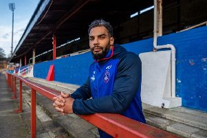 Wakefield Trinity's Ryan Atkins, pictured at Belle Vue Stadium. Picture: James Hardisty.