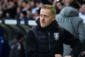 Owls boss Garry Monk. Pic Steve Ellis