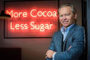 Hotel Chocolats co-founder and chief executive, Angus Thirlwell