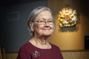President of the Supreme Court Lady Brenda Hale, pictured in Bradford
