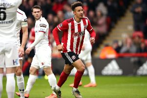 Callum Robinson has had to be patient at Sheffield United this season