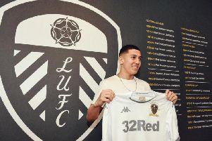 Ivan Poveda has joined Leeds United from Manchester City