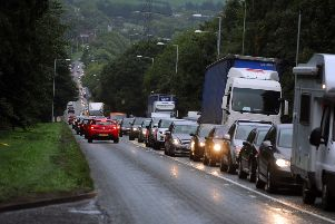 Traffic congestion is a frequent problem in Yorkshire.
