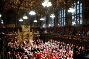 Should the House of Lords move to Yorkshire? Photo: Toby Melville/PA Wire
