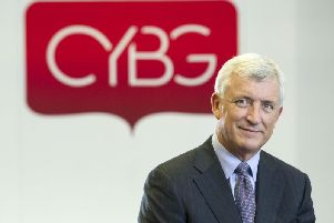 David Duffy has led the group during a period of change.This year the Clydesdale and Yorkshire banks will be changing their logos to Virgin, and Virgin Money will launch a business current account.