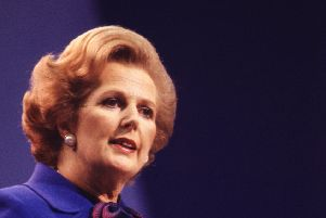 Former premeir Margaret Thatcher was said to be on the side of the police.
