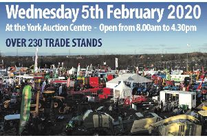 YAMS 2020 is at York Auction Centre on Wednesday, February 5