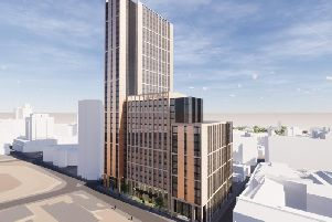 How the new buildings will appear