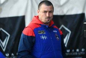 Learning curve: After three strong years, Chris Chester and Wakefield Trinity took a backwards step in 2019. Can they respond in the season ahead? (Picture: Jonathan Gawthorpe)