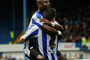 HIT: Along with Connor Wickham, Leroy Lita played a big part in saving Sheffield Wednesday from relegation in 2013
