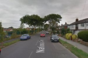 National Avenue in Hull where a cyclist was fatally injured on Wednesday evening