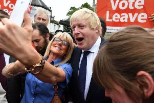 Boris Johnson - now Prime Minister - was an architect of the Vote Leave campaign.