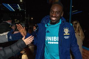 Jean-Kevin Augustin pictured at Elland Road Picture Bruce Rollinson