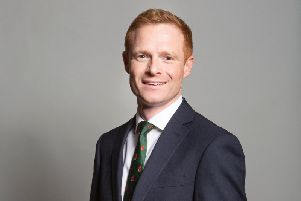 Keighley MP Robbie Moore. Photo: Parliament