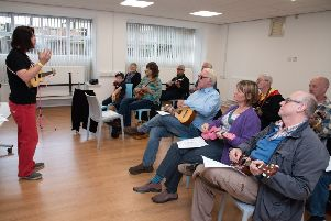 A Ukulele lesson will be held at Cleckheaton Library on Monday, February 17.