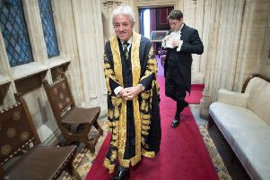 Should John Bercow - the former Speaker - be awarded a life peerage?
