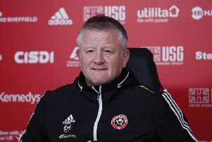 Chris Wilder is refusing to think about Sheffield United qualifying for Europe - just yet