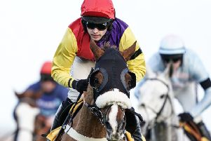 Jonjo O'Neill jnr and Native River won the Denman Chase at Newbury on Saturday.