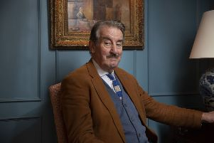 John Challis is touring with his one man show: Only Fools And Boycie: An Evening With John Challis. Picture: A Way With Media Productions/PA.