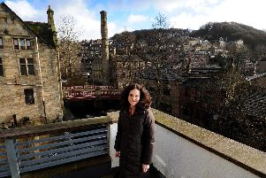 Environment Secretary Theresa Villiers pictured in West Yorkshire today. Picture: Simon Hulme
