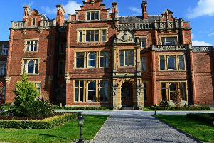 Rossington Hall, where David Baddiel stayed after his gig in Doncaster