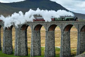 Ribblehead Viaduct, as the Flying Scotsman passes over, is emblematic of Victoria engineers. They would also have built HS2 by now, argues Bill Carmichael.