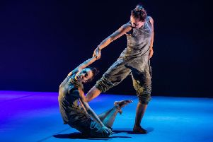 Phoenix Dance Theatres new production, Black Waters at Leeds Playhouse. Picture: Stephen Wright