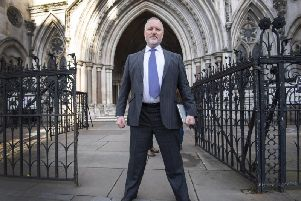 Former police officer Harry Miller outside the High Court, London. Credit: Victoria Jones/PA Wire