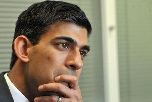 Richmond MP Rishi Sunak is the new Chancellor. Pic: Gary Longbottom
