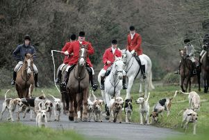 The Avon Vale Hunt arrive for their traditional Boxing Day meet. Matt Cardy/Getty Images