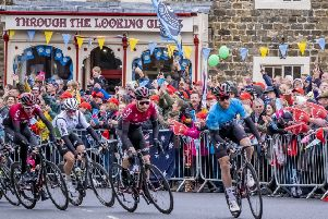 The Tour de Yorkshire 2019 at Masham