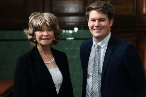 Wakefield council leader Denise Jeffery with deputy Jack Hemingway. Pic: Jonathan Gawthorpe