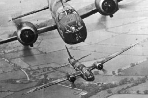 Wellington Bombers in the Second World War. Picture: Getty