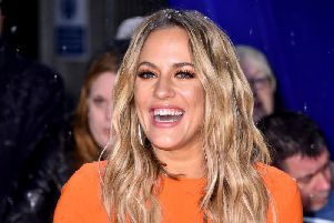 Caroline Flack's tragic death has led to an outpouring of grief. (PA).