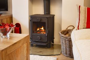 The Government is planning changes to how wood burning stoves can be used. Picture: PA