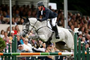 MAN OF THE MOMENT: Huddersfield's Oliver Townend, pictured riding Ballaghmor Class.
